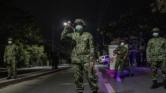 امر للقوات المسلحة والوحدات الأمنية التونسية لحظر التجول ابتداءا من يوم غد