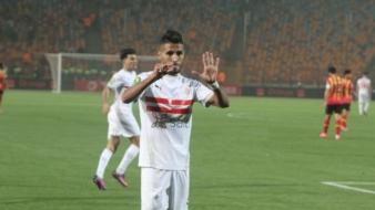 جدل كبير بمصر بعد الفعل الذي قام به اللاعب المغربي أوناجم